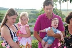 Crislaine, Noêmia, Junior e Arthur